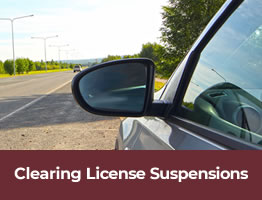 Os Banner Clearing License Suspensions