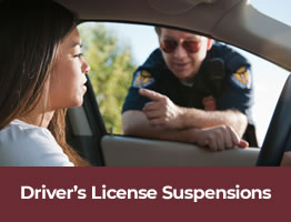 Os Banner Drivers License Suspensions